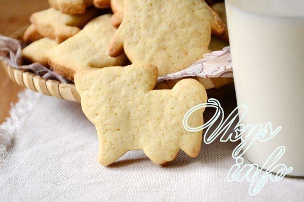 Рецепт печенья из молока с фото