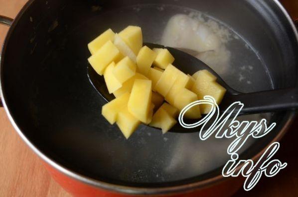 sup s zelenym zamorozhennym goroshkom 6