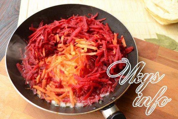 Вкусный борщ с говядиной пошаговый рецепт с