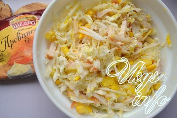 Рецепт салата курица копченая с ананасом