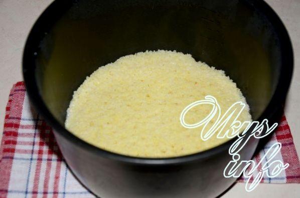 рецепт приготовления пшённой каши в мультиварке редмонд