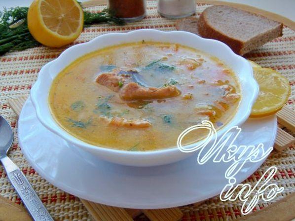 Рецепт Рыбного Супа Из Свежей Рыбы