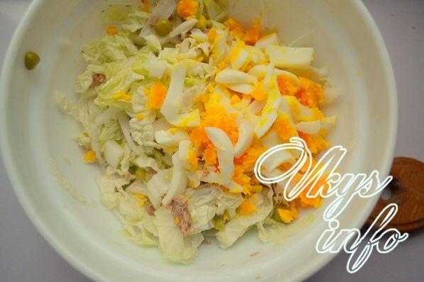 salat iz konservirovannogo tunca 5