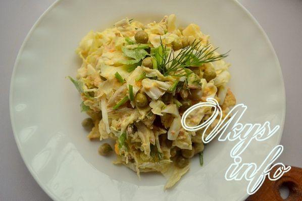 salat iz konservirovannogo tunca 7