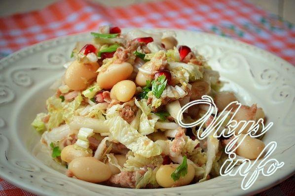 salat iz konservirovannogo tunca 105