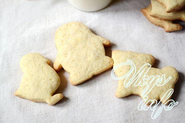 Печенье своими руками без молока
