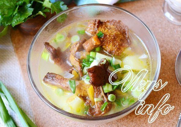 суп из свежих лисичек рецепты с фото пошагово