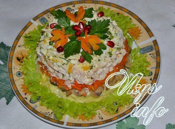 Салаты диетические с капустой брокколи рецепты