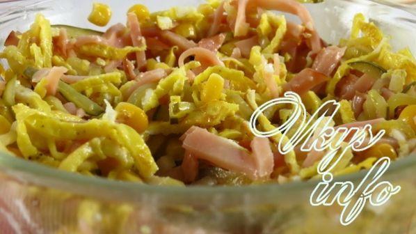 Салат с колбасой и фасолью - Подборка кулинарных рецептов ...