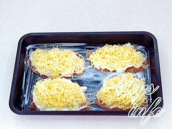 Куриное филе в духовке с сыром и ананасом рецепт пошагово