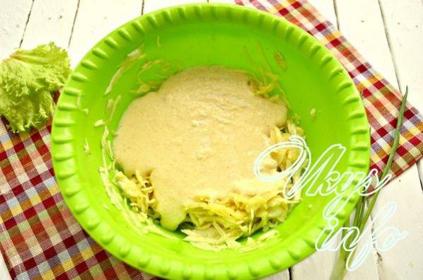 капустная запеканка в духовке с манкой рецепт