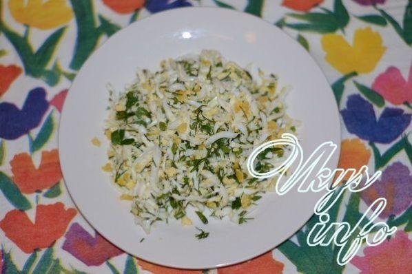 Салат с маринованными опятами слоеный рецепт с