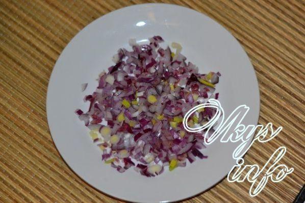 салат с картошкой и грибами слоеный рецепт с фото