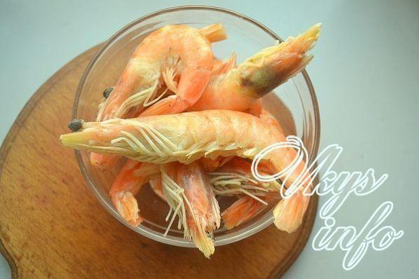 салат креветками рецепт классический простой рецепт с фото
