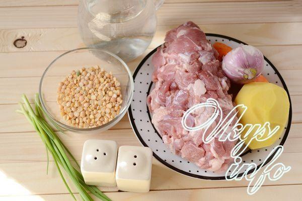 вкусный гороховый суп рецепт с фото пошагово в
