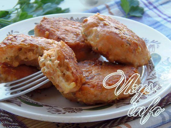 рецепт рыбные котлеты из кеты в