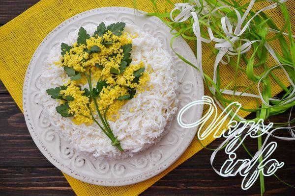 Салат мимоза рецепт с сардиной пошаговый рецепт