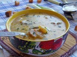 Суп с белыми грибами замороженными рецепт 74