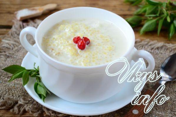 жидкая овсяная каша на молоке рецепт с фото