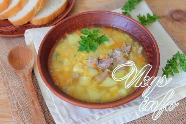 рецепты для мультиварки redmond гороховый суп
