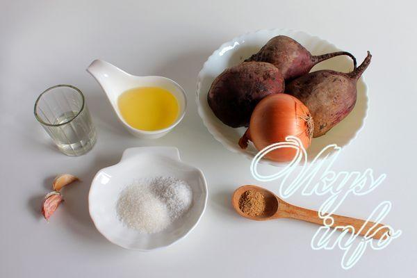 Свекла рецепты приготовления