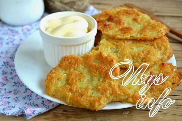 Рецепт белорусских драников из картошки
