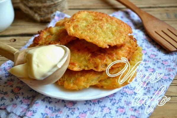Картофельные драники со сметаной рецепт