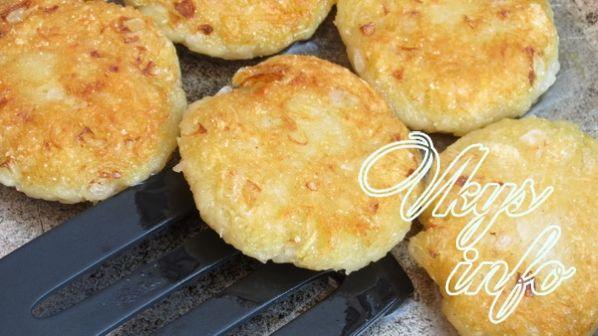 Как сделать картофельные оладьи без яиц