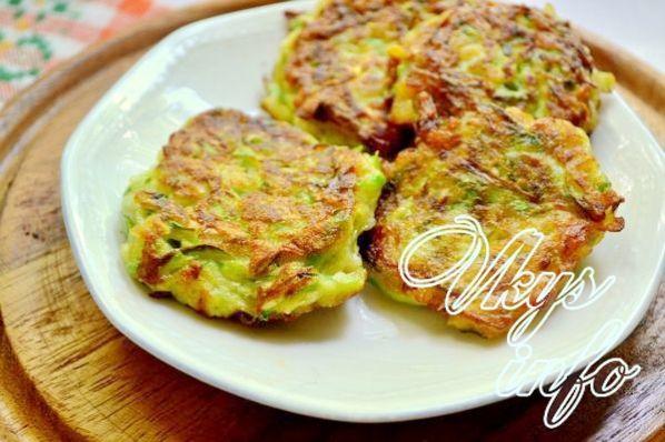 Пышные оладьи из кабачков рецепт с фото
