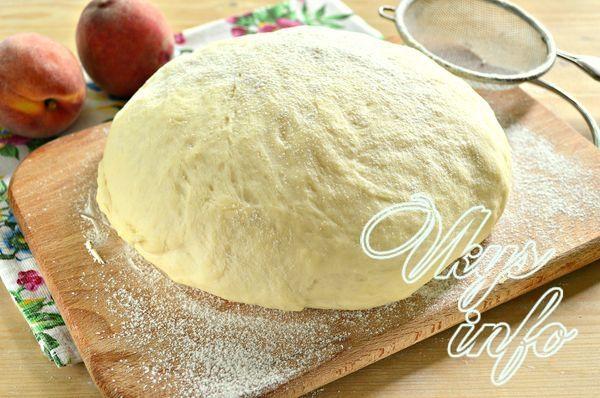 Рецепт тесто для пирожков бездрожжевое на молоке