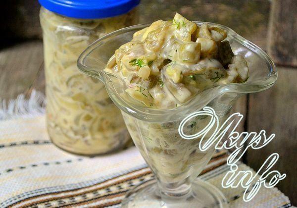 рецепт Баклажаны с майонезом и грибной приправой на зиму