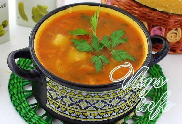 Самый простой и дешевый суп