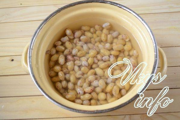 Фасоль в томате на зиму - рецепт консервации с фото
