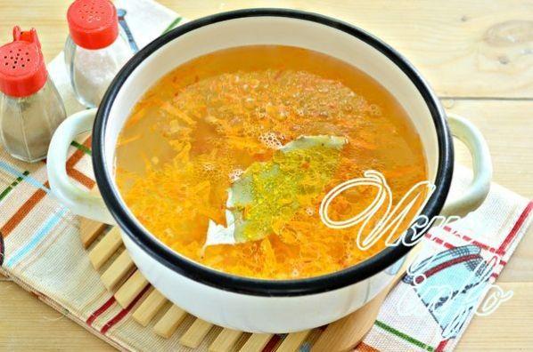 рецепт как варить суп с тушенкой рецепт