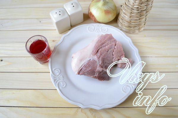Как вкусно пожарить свинину на сковороде фото ингредиенты