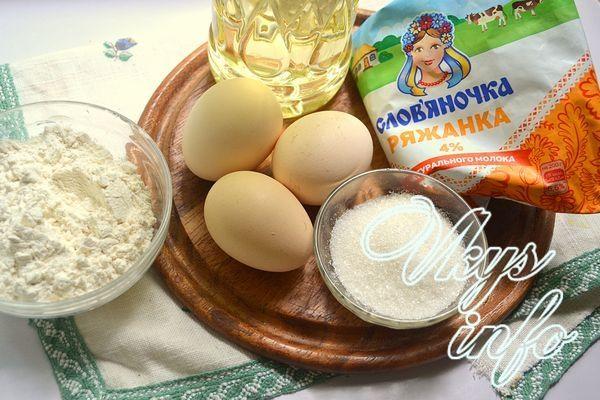 Оладьи на ряженке пышные рецепт с фото пошагово