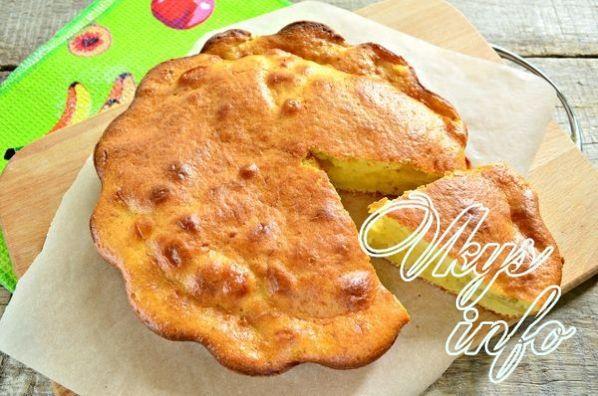 Шарлотка с картошкой на кефире рецепт с фото пошагово в духовке