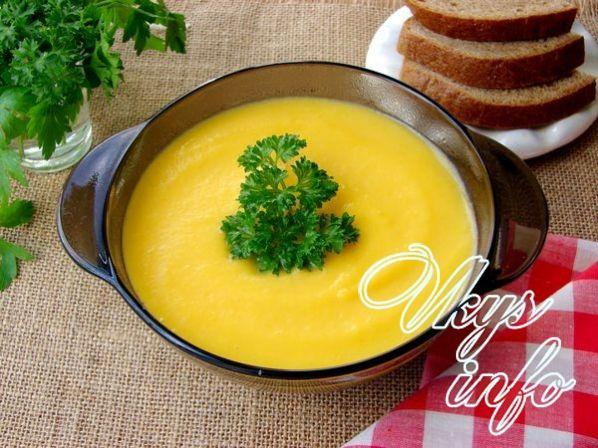 Суп тыквенный рецепт диетический