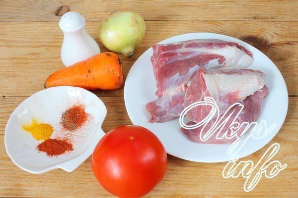 Гуляш из говядины рецепт с фото