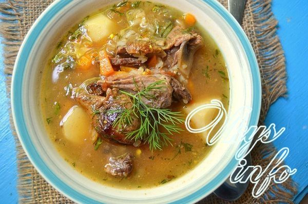 суп из домашней утки рецепт
