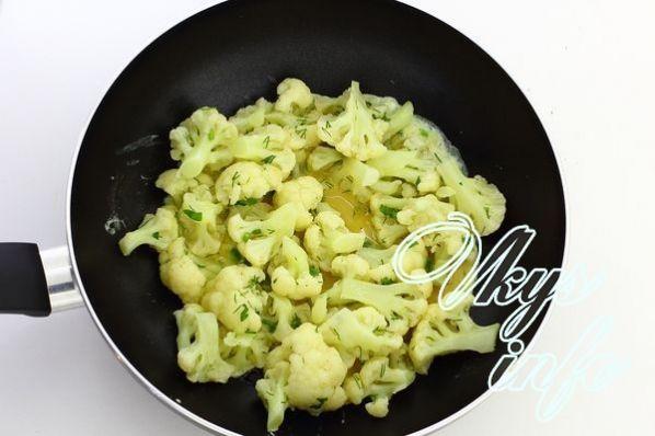Цветная капуста рецепты приготовления на сковороде