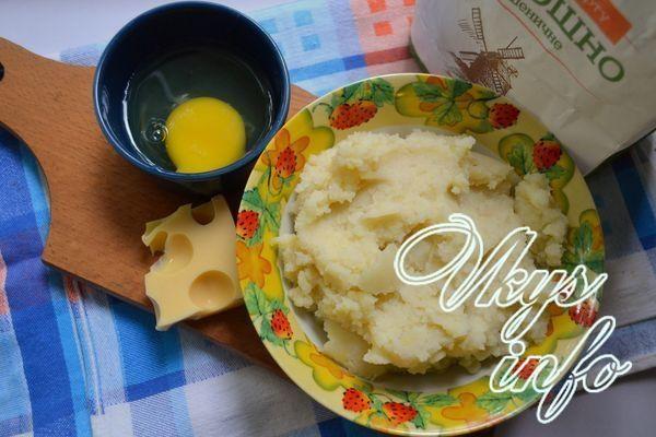 Зразы из картофельного пюре без начинки ингредиенты