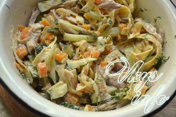 salat s blinami i kuricei 12