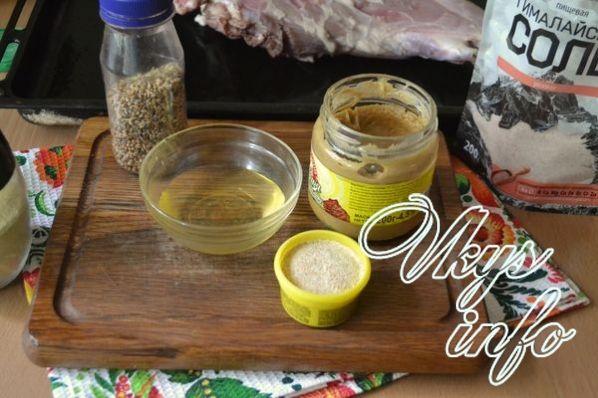 Рецепт приготовления бараньей ноги в фольге в духовке