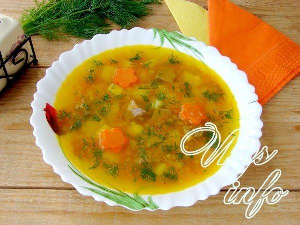 гороховый суп рецепт с говядиной в кастрюле