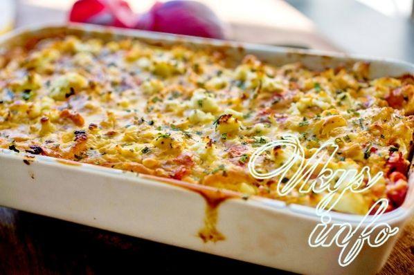Цветная капуста, запечённая в духовке рецепты с фото