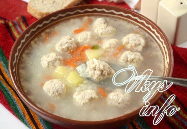 sup s frikadelkami v multivarke 10