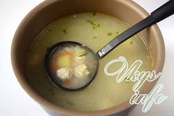sup s frikadelkami v multivarke 8