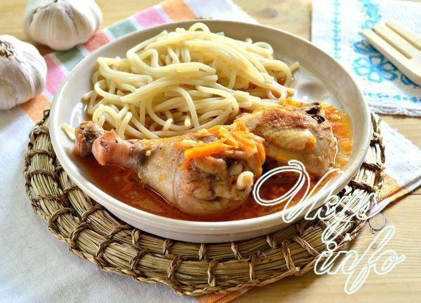 Куриные бедрышки с подливкой рецепт с фото 10