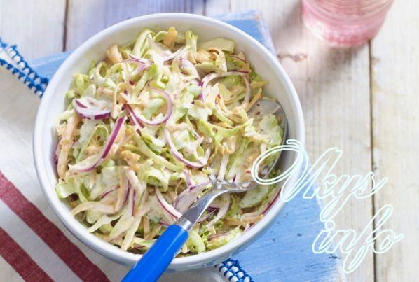 Салат коул-слоу рецепт